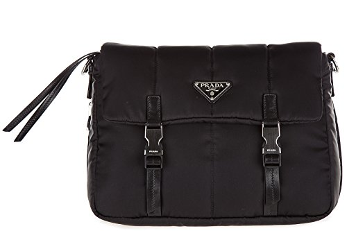 8ba1d5a161e6 Prada Women's Leather and Shoulder Bag With Buckles Black - Buy Online in  KSA. Shoes products in Saudi Arabia. See Prices, Reviews and Free Delivery  in ...