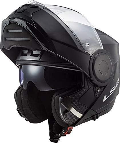 Ls2 Herren Scope Solid Motorrad Helm Schwarz Xxl Auto