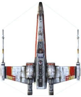 Star Wars Microkite Mini Mylar Kite X-Wing Fighter