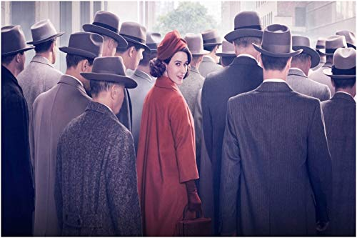 The Marvelous Mrs. Maisel TV Series Miriam Maisel Rachel Brosnahan 12 x 18 inch Multicolour Rolled Poster