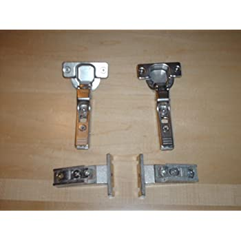 Blum - 120 Degree Hinge W/mounting Plate - Cabinet And ...