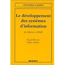 Le Developpement des Systemes d'Information: de Merise a Rad (col