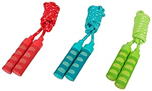 HUDORA 71010 - Springseil mit Softgriffen, 200 cm, Farben Sortiert