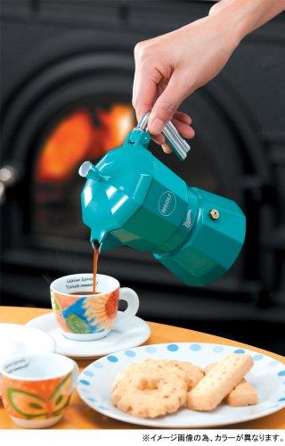 ZARINA (Zarina) espresso maker 3cup for Brown RZ-3MT (japan import) by RISOLI (Rizori) (Image #1)