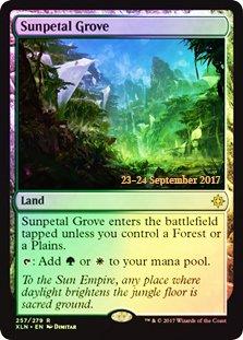 Magic: The Gathering - Sunpetal Grove - Foil - Prerelease Promo