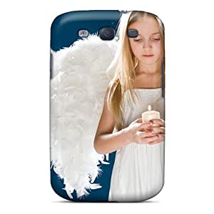 Galaxy Case - Tpu Case Protective For Galaxy S3- Little Angel Girl