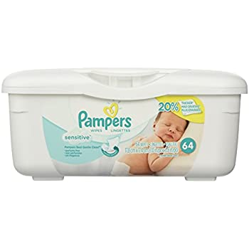 Baby Wipes Box Of 64 Count