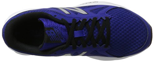 Nuovo Equilibrio Mens 490v4 Scarpa Da Corsa Blu / Argento