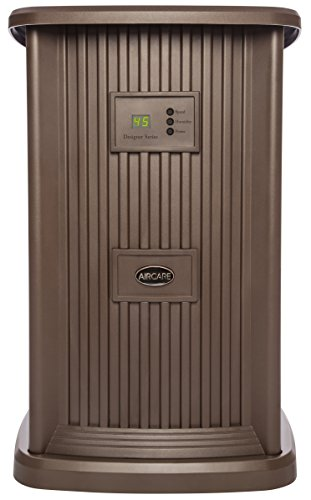 AirCare Digital Style Nutmeg Whole House Pedestal Evaporative Humidifier for 2400 sq. ft