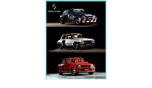 Amazon.com: FRENCH VINTAGE METAL SIGN 20x15cm RETRO AD RENAULT 5 TURBO CAR: Home & Kitchen