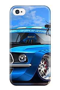 Cody Elizabeth Weaver Design High Quality Boy And Racer Car Cartoon Cover Case With Excellent Style For Iphone 4/4s by mcsharks