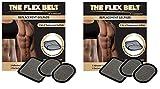 The Flex Belt Gel Pads for Abdominal Toning System (one Set)