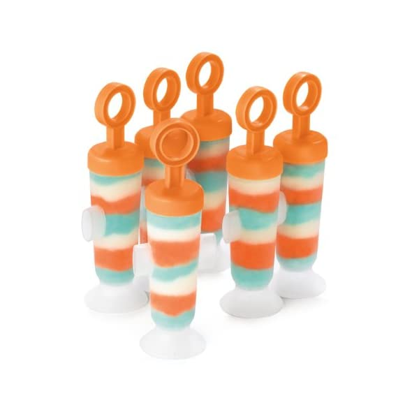 Cuisipro 837446 Set stampi per gelati/ghiaccioli, 85 ml 4 spesavip