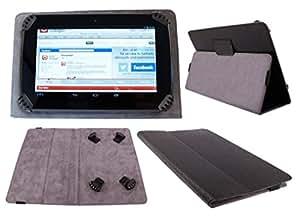 DURAGADGET Funda/Atril Para Tablet Alcatel PIXI 4 (7) 3G - Con interior Aterciopelado