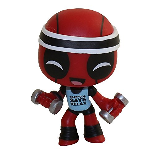 Funko Mystery Minis Vinyl Figure - Deadpool S1 - WORKOUT (2.5 inch)