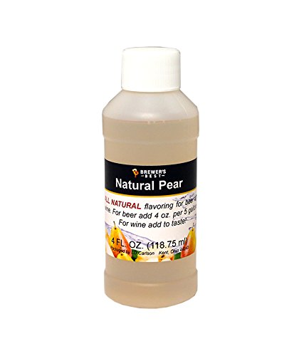 Brewer's Best Natural Beer and Wine Fruit Flavoring (Pear)