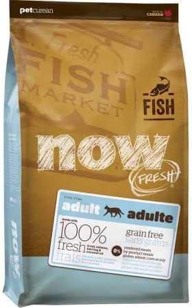 Petcurean Now Fresh Grain Free Fish Adult Recipe Cat Food – 8lb
