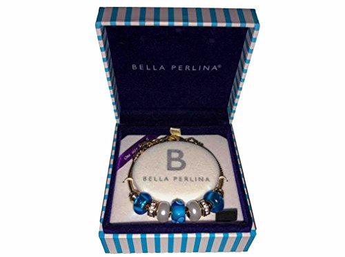 bella-perlina-european-bracelet-charm-blue-pearl-beads-bangle-box-new-set