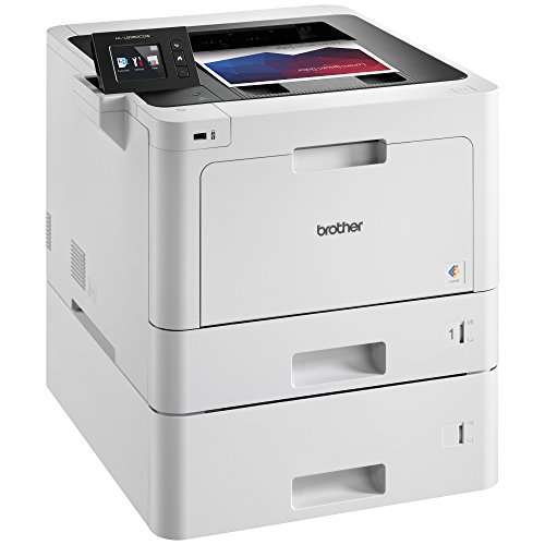 Brother Printer HLL8360CDWT Business Color Laser Printer with Duplex Printing, Wireless Networking and Dual Trays,  Amazon Dash Replenishment Enabled by Brother (Image #2)