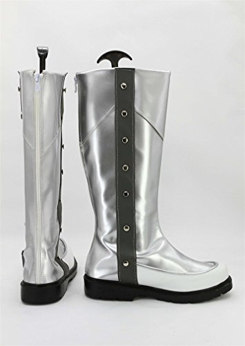Bromeo Yu-Gi-Oh! 5Ds JACK ATLAS Cosplay Chaussure Bottes Boots