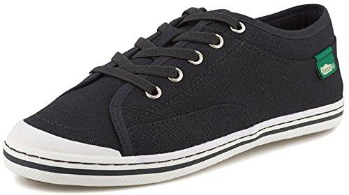 Canvas Simple Sneakers (Simple Women's Sneakers Satire Black Size 6.5)