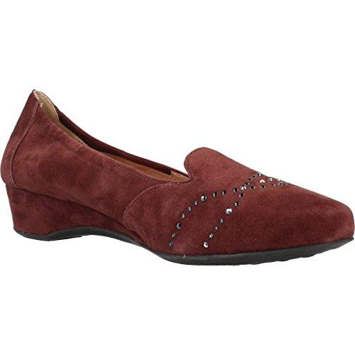 Mujer Zapatos STONEFLY Michelle Rojo Marca Bailarina Mujer 7 para Bailarina Rojo STONEFLY para Color Rojo Modelo Vel Zapatos nYqBP8wn