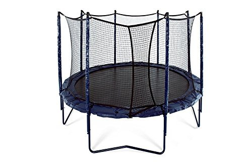 JumpSport 12' Elite | Includes Trampoline and Safety Enclosure | Unforgettable Overlapping Doorway | Easy-Up Net Installation | Exclusive Spring Technology for Performance and Safety