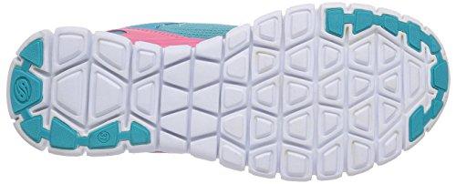 Dockers by Gerli 36SV607 - zapatilla deportiva de material sintético infantil turquesa - Türkis (türkis 640)