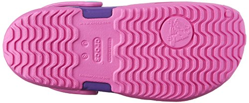 crocs Unisex-Kinder Electro Ii Clog Pink (Party Pink/Neon Purple)