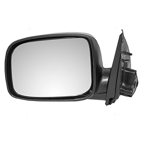 Drivers Power Side View Mirror Textured Replacement for Chevrolet GMC Isuzu Pickup Truck 15246906