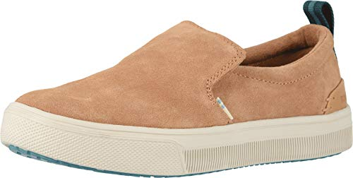 TOMS Women's TRVL LITE Slip-On Honey Suede 6.5 B US
