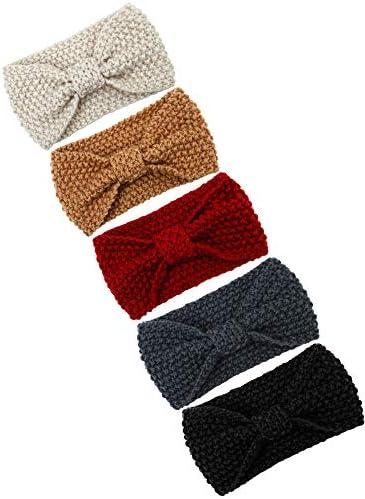 Thick Chunky Ear WarmerCrochet Ear WarmerChunky HeadbandCrochet HeadbandStriped Ear WarmerWomen/'s EarwarmerMen/' Headband