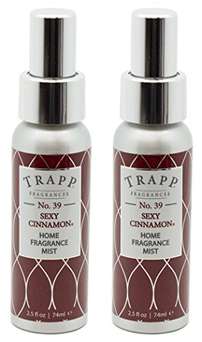Trapp Home Fragrance Mist, No. 39 Sexy Cinnamon, 2.5-Ounce (2-Pack)