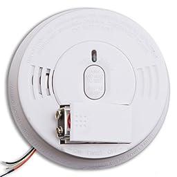 Kidde i12060 Hardwired Smoke Alarm with Front Load Battery Backup Smoke Alarm