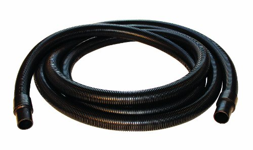 Nortech N86110 Static Conductive Standard-Duty PVC Vacuum Hose with Cuffs, 1.25-Inch by 10-Foot by Nortech