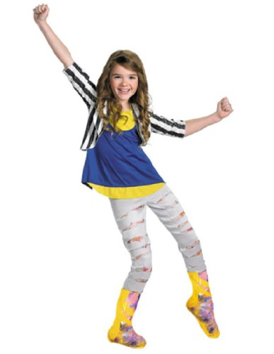 Shake It Up Cece Costume (Disguise Disney Shake It Up Cece Deluxe Tween Costume, 10-12)