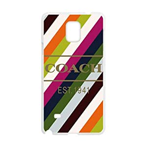 Coach design fashion cell phone case for samsung galaxy note4