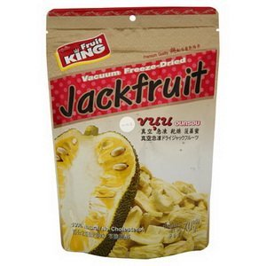 Fruit King Jackfruit Vacuum Freeze-dried 2.5 Oz in Pouch by Fruit King