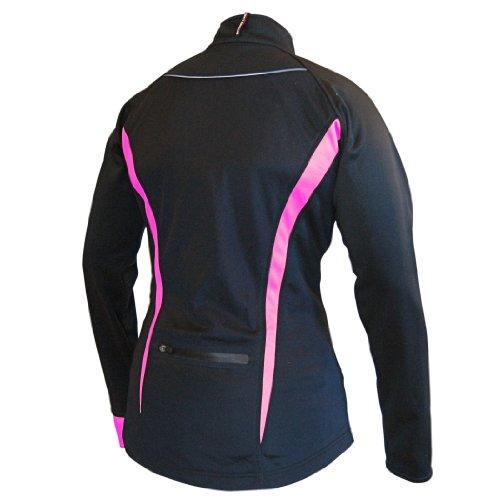 Missing Link Women's Viper Jacket (Black/Pink, Small)