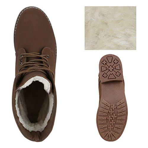 Stiefelparadies - Botas clásicas Mujer marrón