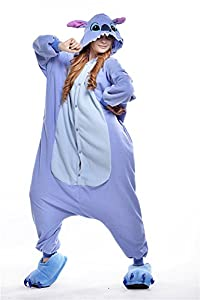 Oudy Unisex Adult Kigurumi One Piece Onesie Pajamas Animal Cosplay Costume