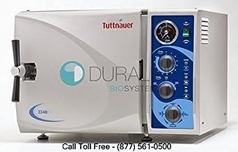 Tuttnauer 2540M Manual Autoclave M Series Sterilizer
