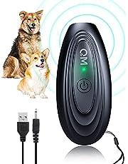 Ultrasoon antiblaffende apparaat, Handheld hond blaffen afschrikmiddelen, Oplaadbare stop hond blaffen, Huisdier zacht antiblaffende apparaat met LED-indicatie, Hondentrainingsapparaat voor kleine middelgrote grote honden