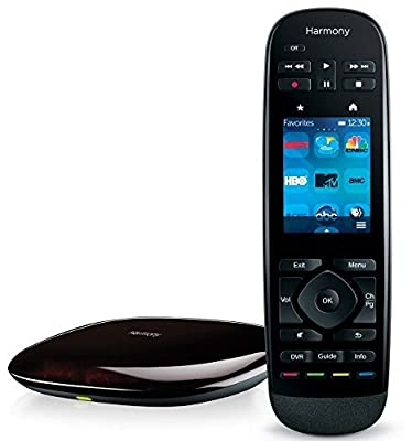 Logitech Harmony Ultimate Remote with Customizable Touch Screen and Closed Cabinet RF Control