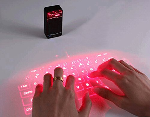 Virtual Projected Bluetooth Keyboard for Phone PC Tablet - 4