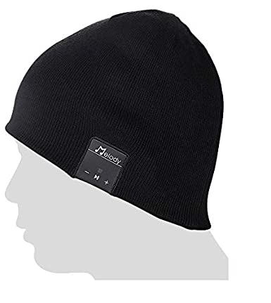 Bluetooth Beanie Music Hat ,Coeuspow 4.1 Wireless Smart Beanie Headset Music Cap with HD Stereo Speaker ,Built-in Mic , 100% soft acrylic,Hand Free for Running Skiing Skating Christmas Gift-Black Coeuspow technology inc 601263730910
