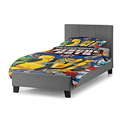 Trans&formers Res&cue Bo&ts Quilt Cover Twin Bed Quilt Cover, Suitable for Children Black 55