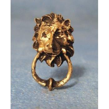 Miniature Lion Head Door Knocker 1/12 Scale (Dolls House Accessory)