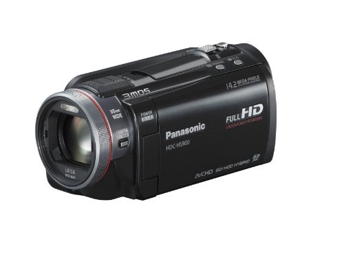 Panasonic HDC-HS900K 3 MOS 220GB HDD 3D Compatible Camcorder
