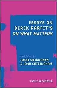 Essays on derek parfit's on what matters